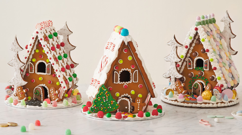 How To Make A Homemade Gingerbread House: 3 Decorating Ideas