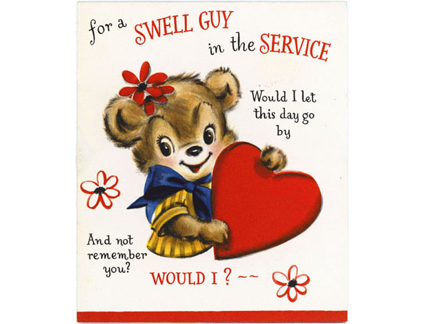 Hallmark Valentine's Day Cards Through the Years: 1950s #Hallmark #HallmarkIdeas
