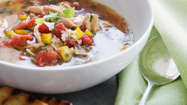 Spicy Chicken Soup Recipe #Hallmark #HallmarkIdeas