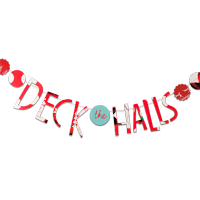 Recycled Christmas Card Crafts: Seasonal Garland #Hallmark #HallmarkIdeas