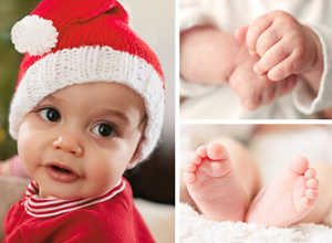 Christmas card photo ideas: kids photo tips