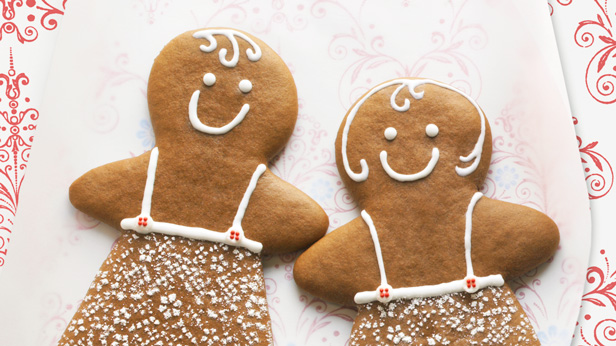 Christmas Cookie Recipes: Giant Gingerkids #Hallmark #HallmarkIdeas