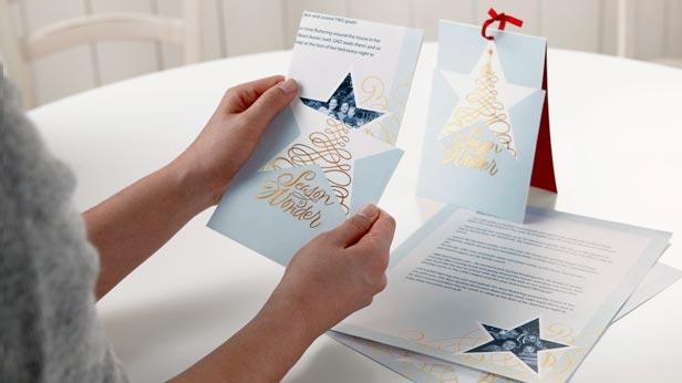 Christmas letter ideas #Hallmark #HallmarkIdeas