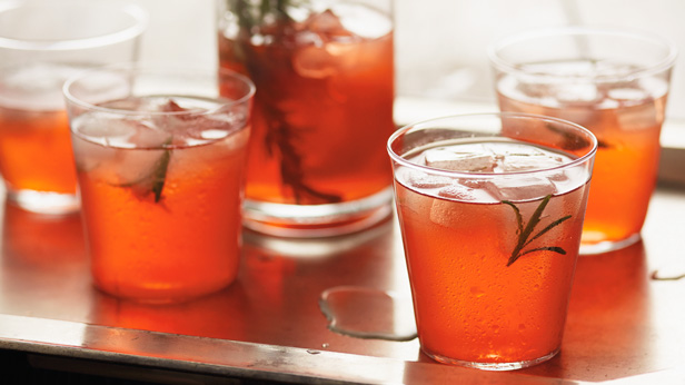 Festive Holiday Cocktails: Citrus-Rosemary Spritzers Recipe #Hallmark ...
