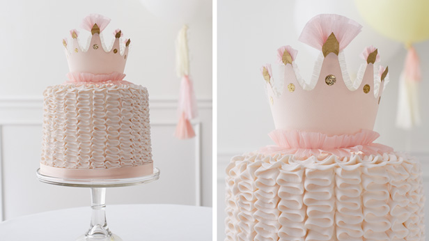 DIY Birthday Cake Toppers: Crown
