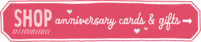 Shop anniversary cards & gifts banner