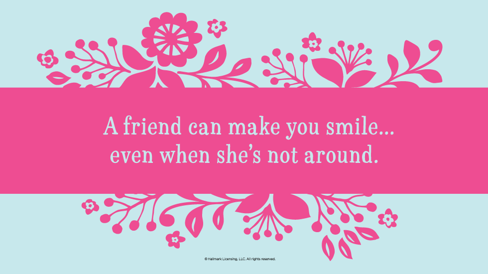 60 Friendship Quotes Hallmark Ideas Inspiration Adorable Quotes About Smile And Friendship