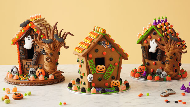 Halloween Gingerbread Houses Hallmark