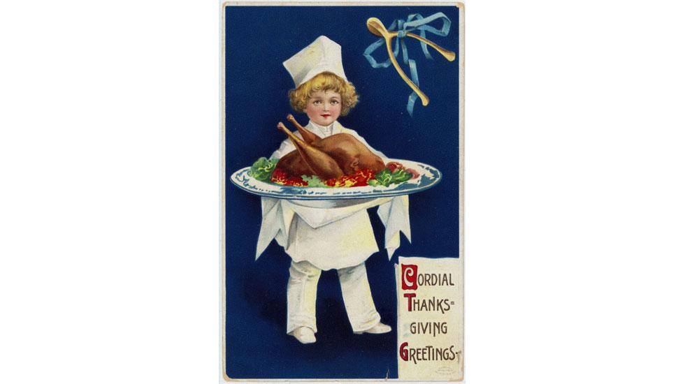 Hallmark Thanksgiving cards through the years: 1910s #Hallmark #HallmarkIdeas