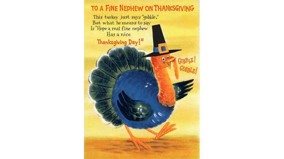 Hallmark Thanksgiving cards through the years: 1960s #Hallmark #HallmarkIdeas