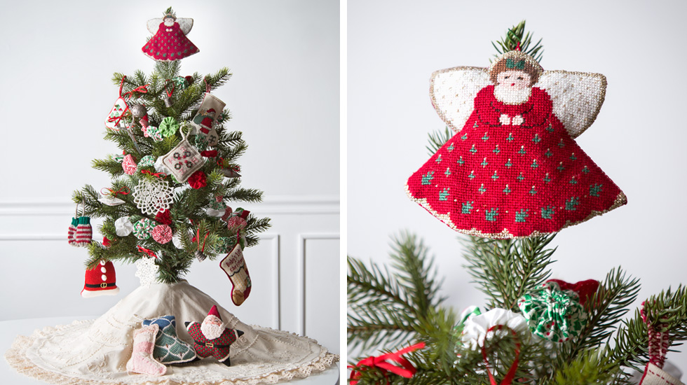 christmas tree decorating ideas and themes homespun holiday - Hallmark Christmas Decorations