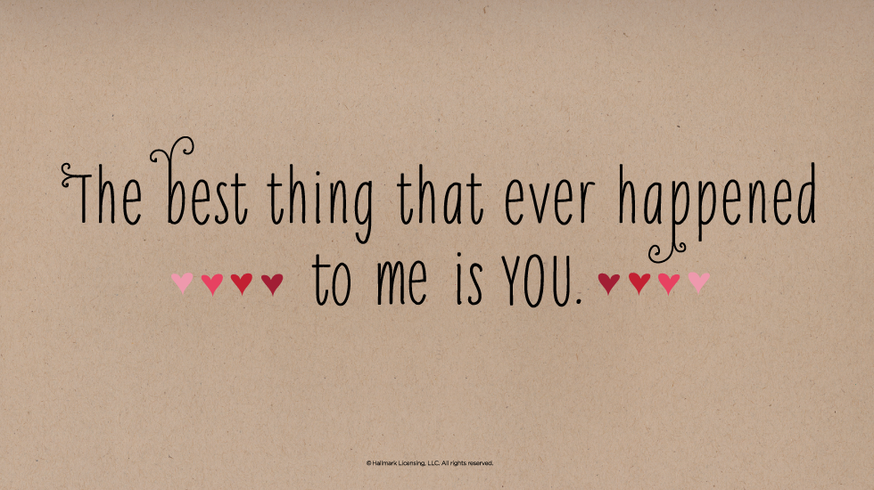 Best Quote On Love Adorable 15 Short & Sweet Love Quotes  Hallmark Ideas & Inspiration