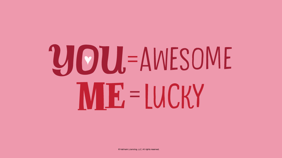 Love Quotes: Lucky Me