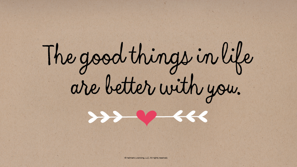 Good Love Quotes Extraordinary 48 Short Sweet Love Quotes Hallmark Ideas Inspiration