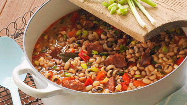 New Year's Hoppin' John Recipe