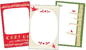 DIY ornament memories book printables