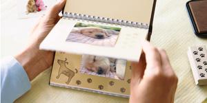 Puppy flip book