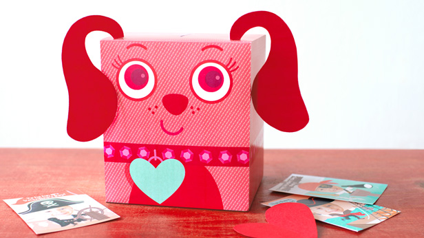Decorating Valentines Boxes Brilliant The Cutest Valentine Boxes