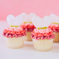 Quinceanera decorations: dressed-up cakes #Hallmark #HallmarkIdeas