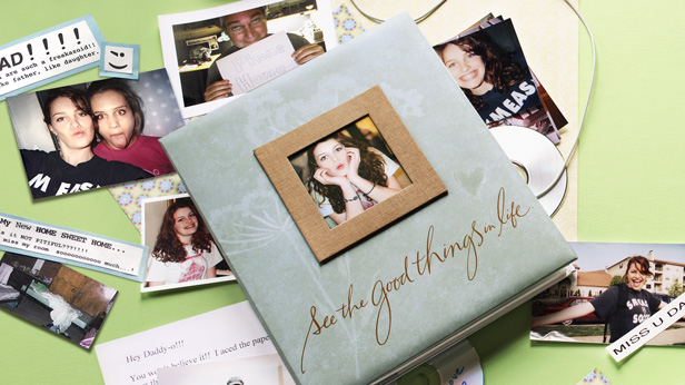 Scrapbook Idea: College Memories #Hallmark #HallmarkIdeas