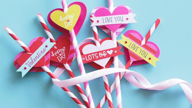 Valentine's Day Crafts #Hallmark #HallmarkIdeas