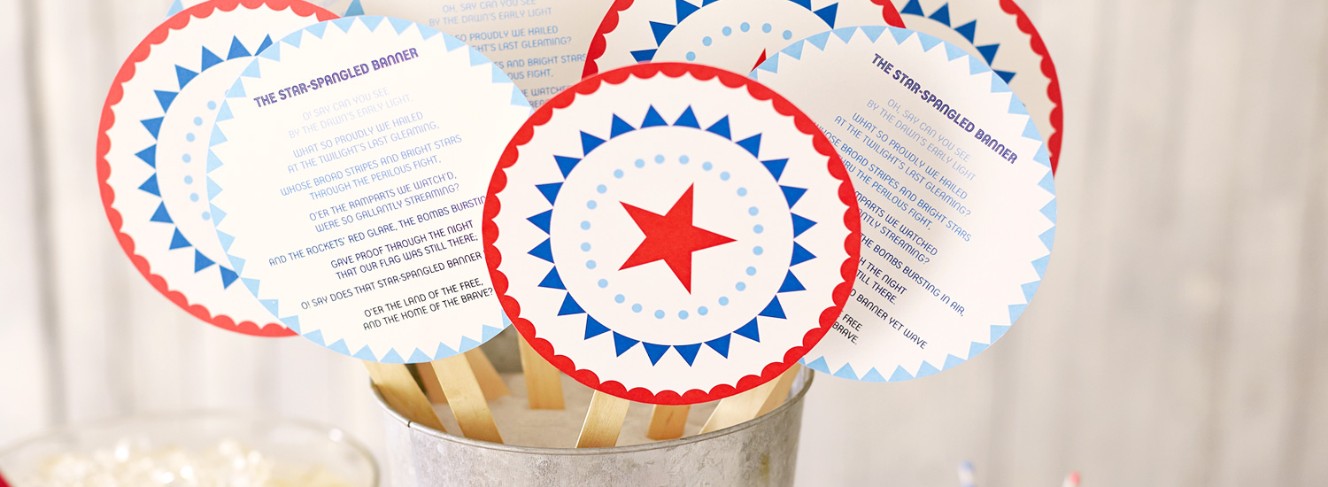 4th of July crafts & free printables