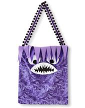 DIY Halloween Treat Bags: Monster