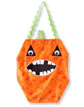 DIY Halloween Treat Bags: Pumpkin