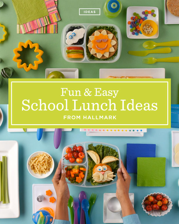 Fun & Easy School Lunch Ideas