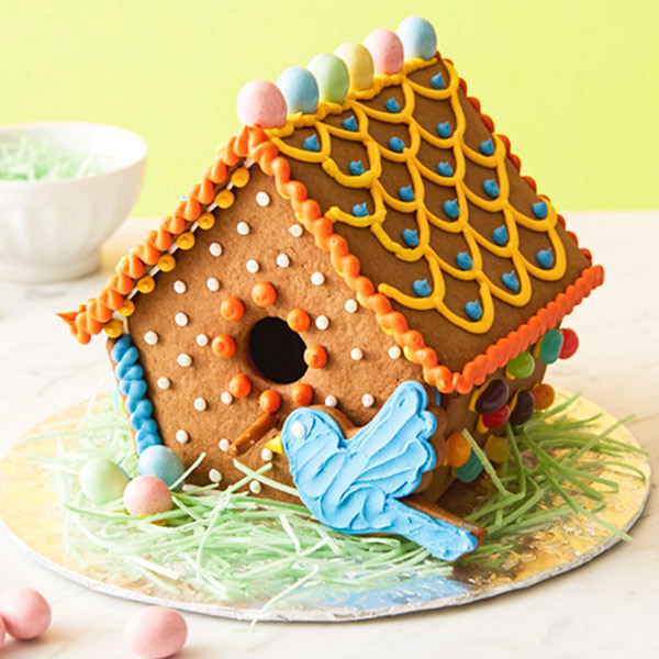 Spring gingerbread house ideas