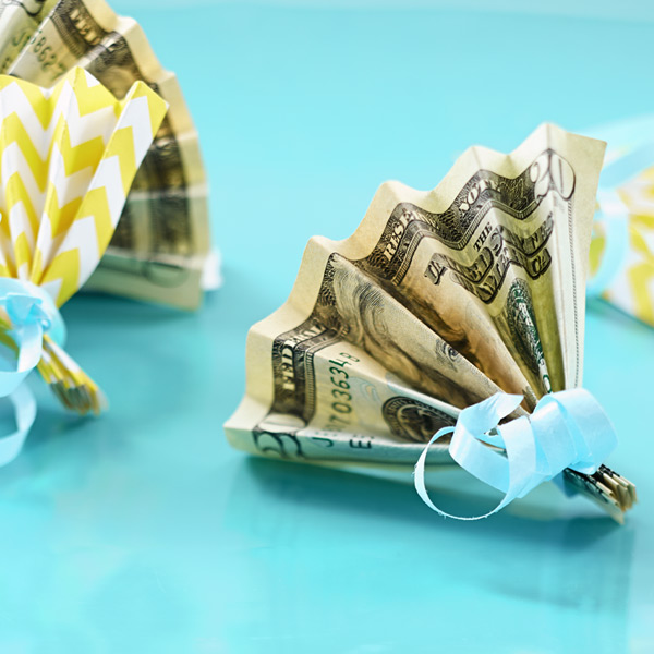 Creative ways to give cash: fan mail