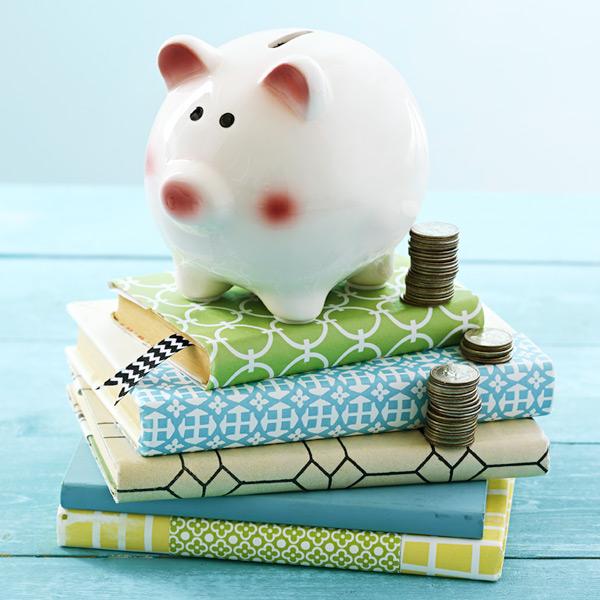 Creative ways to give cash: stuffed piggy bank