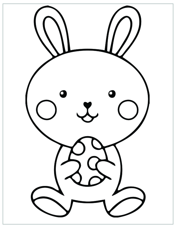 FREE Easter Coloring Pages - Happiness is Homemade | 792x612