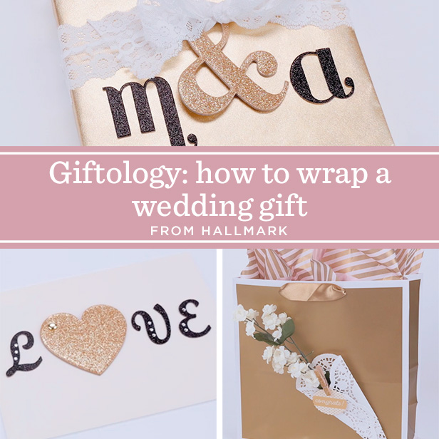 How To Wrap A Wedding Gift Box : Gift Wrapping Videos: How to Wrap a Wedding Gift #Hallmark # ...