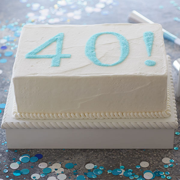 Easy birthday cake ideas: Number's Up
