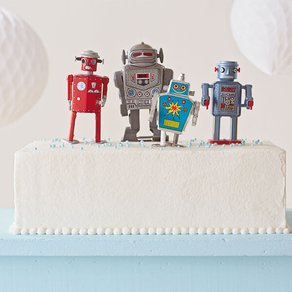 Easy birthday cake ideas: Toy Toppers
