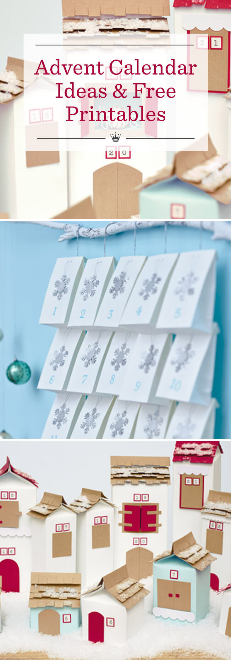 Diy Advent Calendar Ideas Hallmark Ideas Inspiration