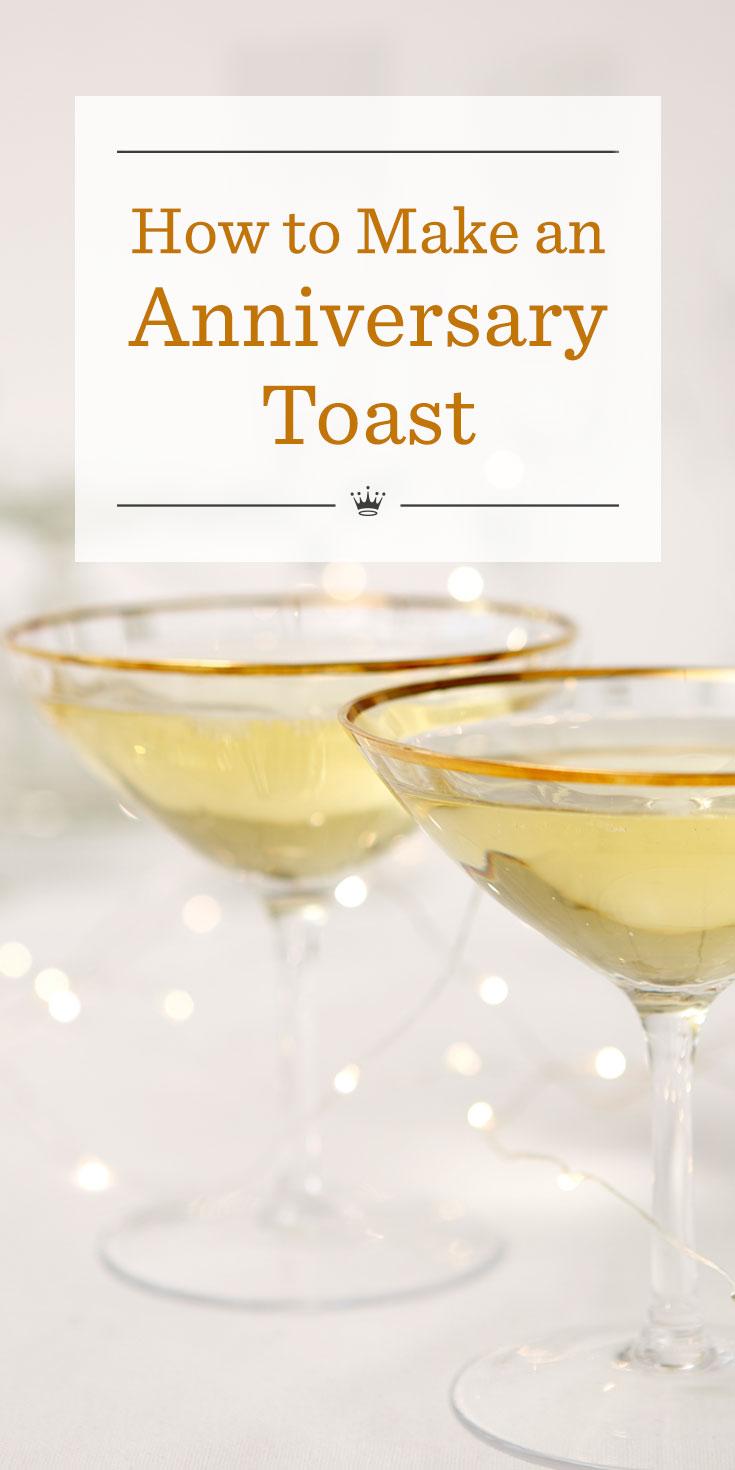 Anniversary Toasts Hallmark Ideas Inspiration