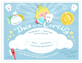photograph relating to Free Printable Tooth Fairy Certificate known as Teeth Fairy Certification Hallmark Suggestions Commitment