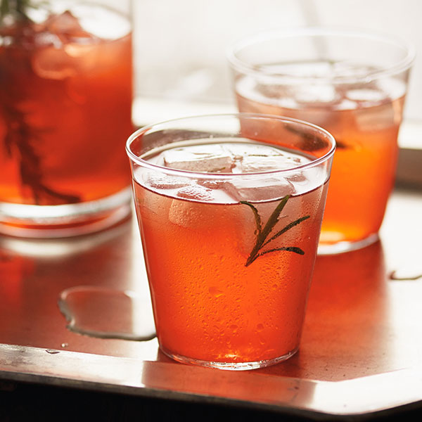 Citrus-Rosemary Wine Spritzer Recipe