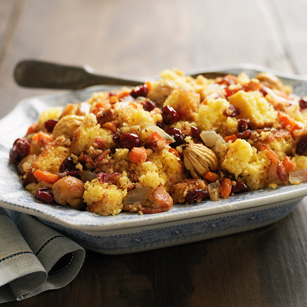 Cornbread and Cranberry Dressing Recipe