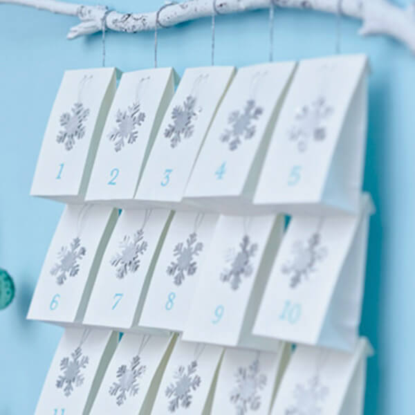 diy advent calendar garland