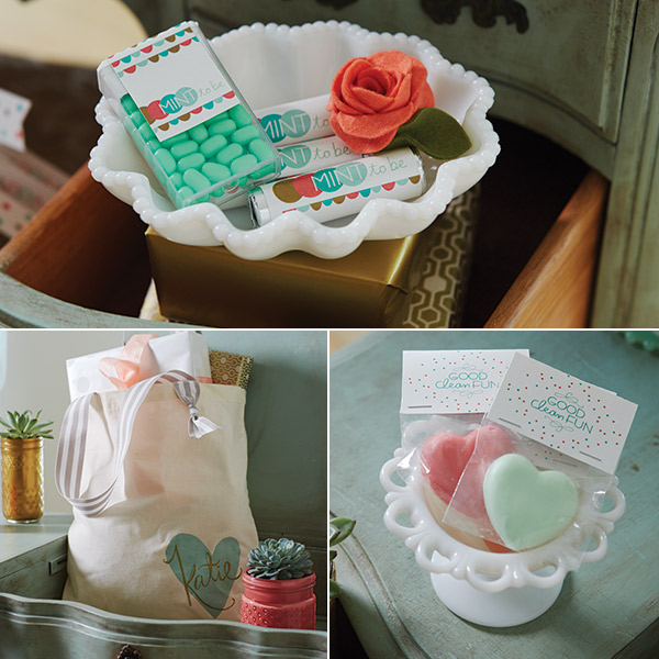 DIY Bridal Shower Favors & Free Printables