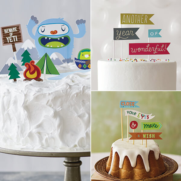 Birthday Cake Toppers Hallmark Ideas Inspiration