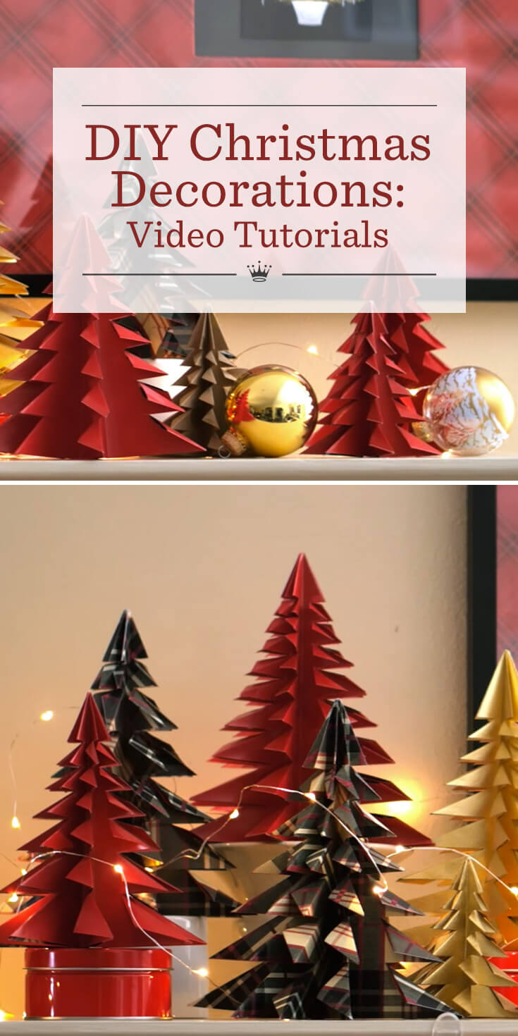 diy christmas decorations hallmark ideas inspiration - Christmas Decoration Video