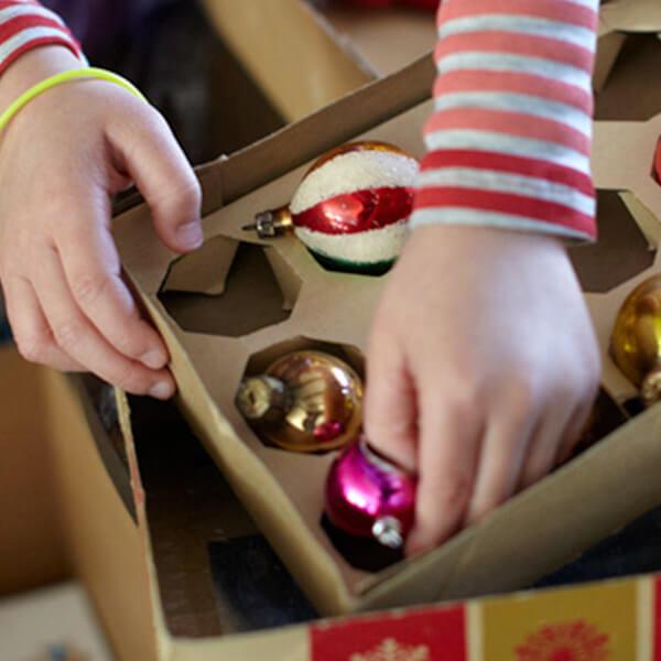 DIY Christmas Ornament Memories Book
