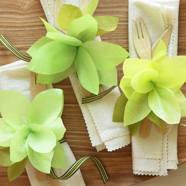 diy party decorations pretty party place settings - Diy Party Decorations