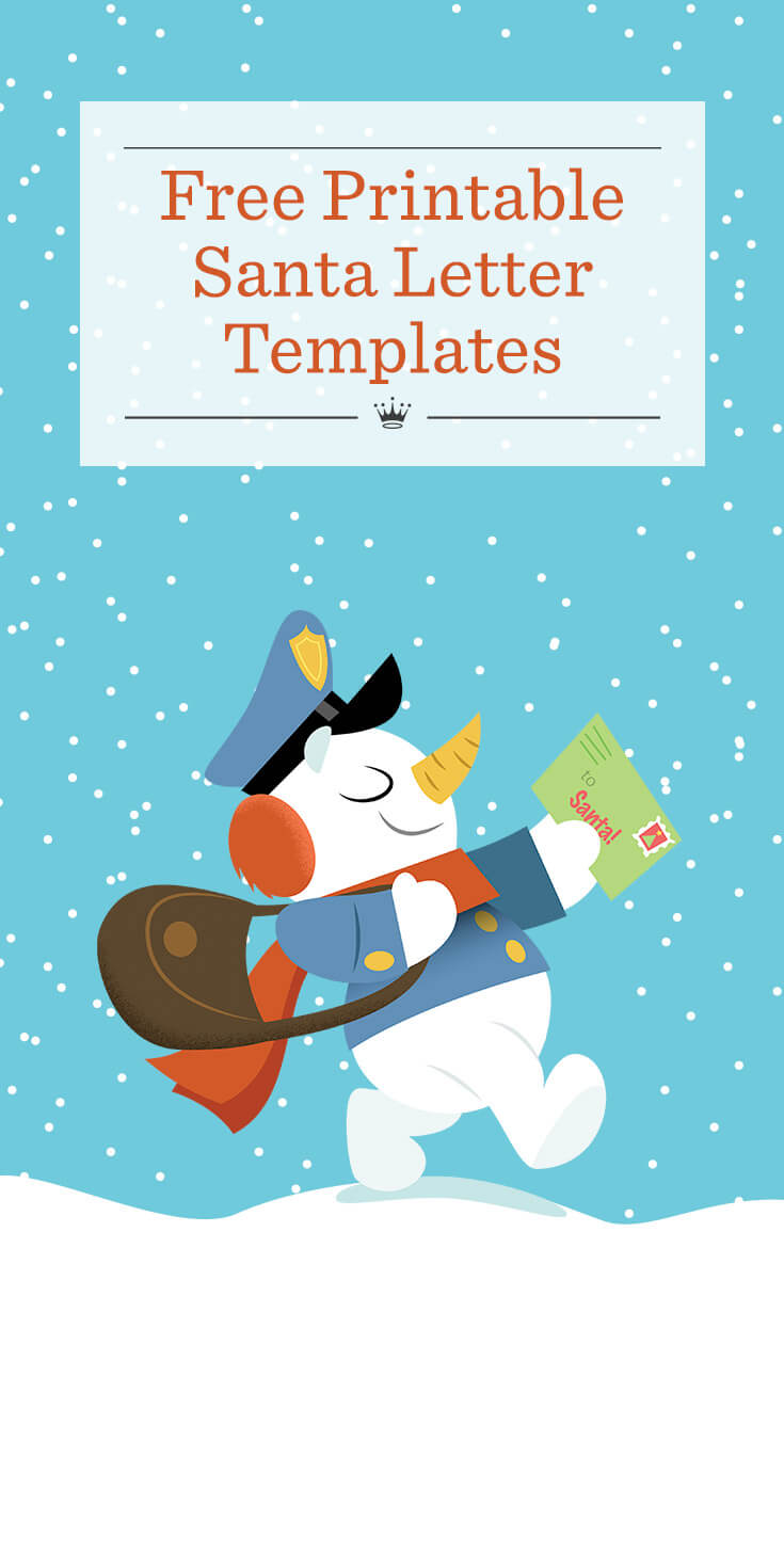 photo regarding Santa Letter Templates Free Printable known as Santa Letter Template Hallmark Designs Determination