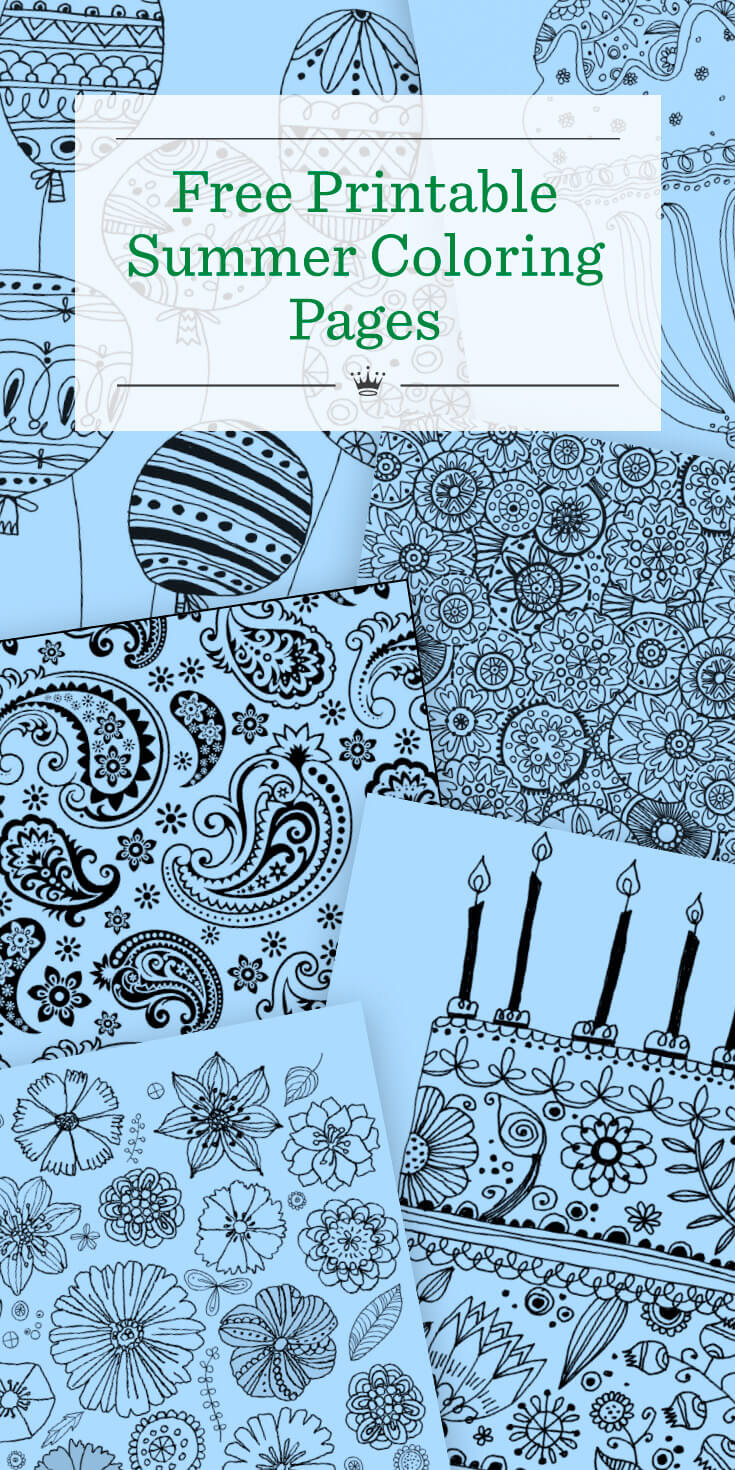 free printable summer coloring pages hallmark ideas u0026 inspiration