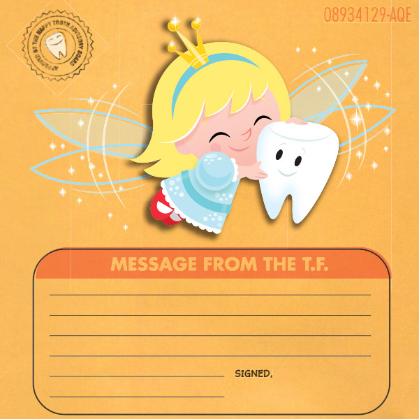 image regarding Free Printable Tooth Fairy Letter and Envelope titled Teeth Fairy Certification Hallmark Programs Commitment